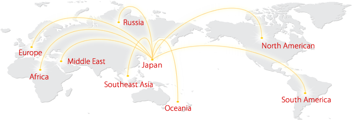 輸出国・地域
